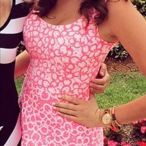 Lilly Pulitzer hot pink dress